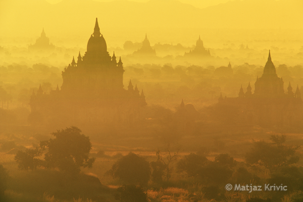 Morning in Bagan, Burma