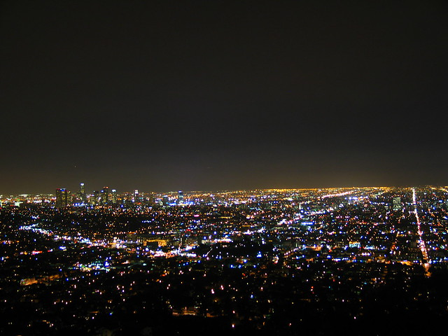 Los Angeles at Night from the Griffith Observatory