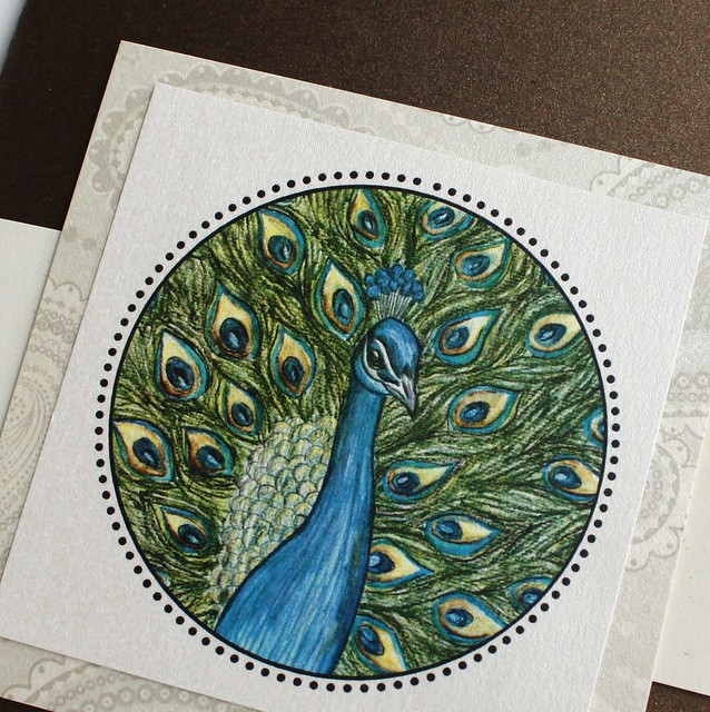 Exquisite Peacock Wedding Invitation Set