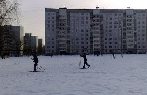 Young skiers par keemeli
