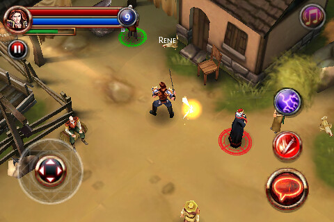Dungeon Hunter on the iPhone