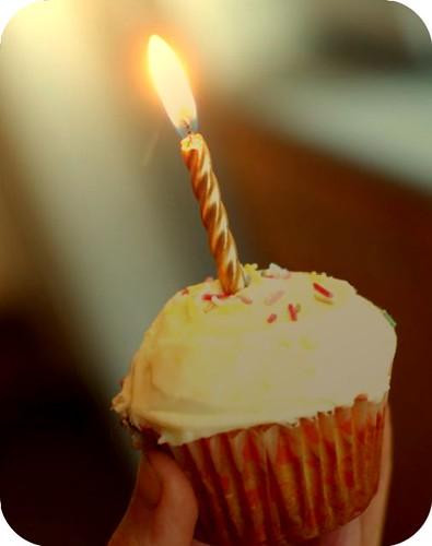 Un-Birthday Cupcake