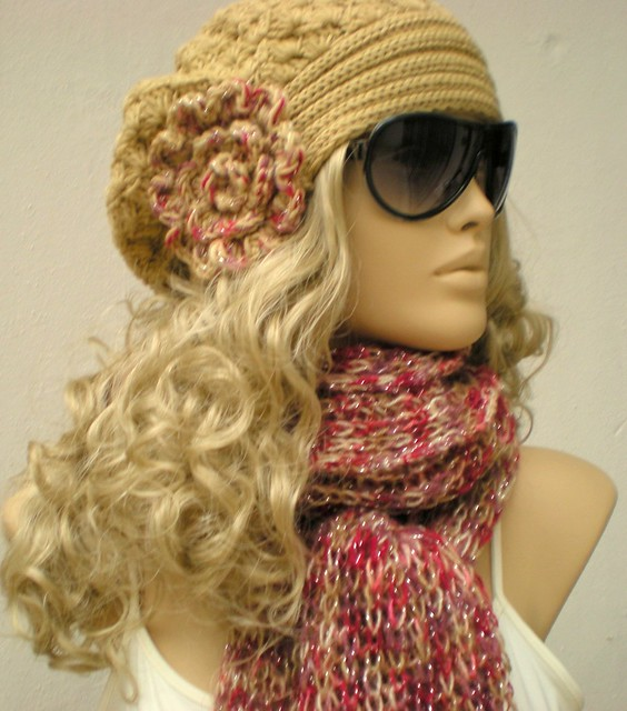 crochet hat scarf  Flickr  Photo Sharing Crochet Hats And Scarves For Kids