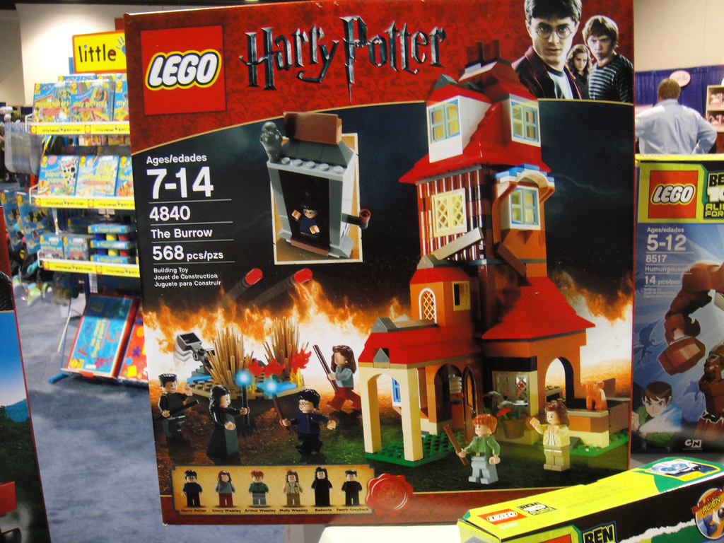 Burrow Harry Potter Lego Lego Harry Potter Sets 4840