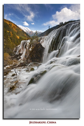 china park mountains nature landscape photography waterfall reserve unesco national pearl sichuan jiuzhaigou shoals everlook