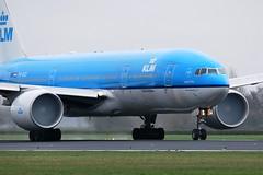 """KLM Boeing 777 (PH-BQI) """"Iguazu Falls"""""""