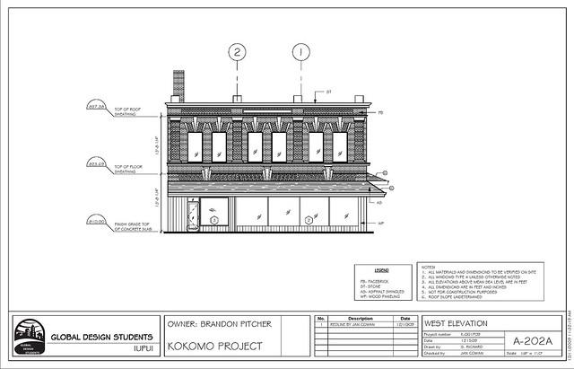 commercial building plans elevations