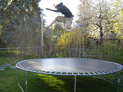 trampolining--equipment and supplies, leisure, trampoline, trampolining,