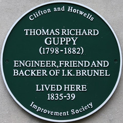 Photo of Thomas Richard Guppy green plaque