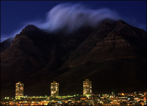 South Africa - Cape Town - Rolling clouds