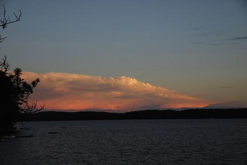 cloud lake canada storm boshkung boshkunglake