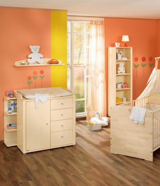 White And Wood Baby Nursery Furniture Sets By Paidi 34