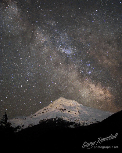Mount Hood Milky Way