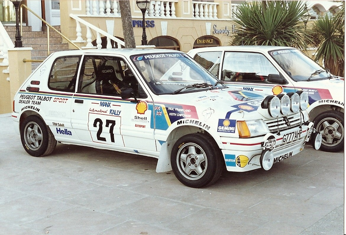 peugeot 205 gti rally car 80s a photo on flickriver. Black Bedroom Furniture Sets. Home Design Ideas