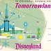 Disneyland Tomorrowland Postcard Folder 1960s