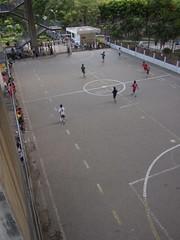 Soccer in park