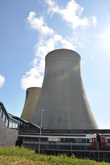 landmark, architecture, cooling tower, power station, nuclear power plant,