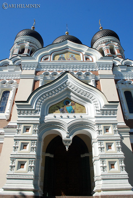 Header of Alexander Nevsky Cathedral, Tallinn