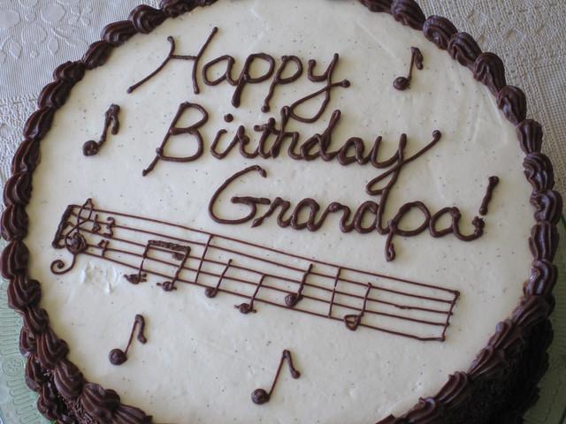 Grandpa Ralphs Birthday Cake  Flickr - Photo Sharing!