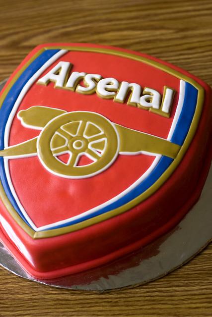 Arsenal Birthday Cake  Flickr - Photo Sharing!