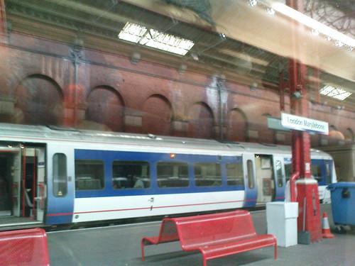 London Marylebone Station - Chiltern train to High Wycombe