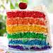 Rainbow cake by Irina Kupenska