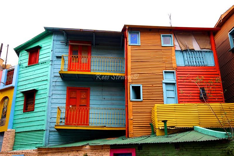 The colors of La Boca - Argentina