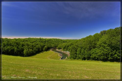 creek pond dam prairie hdr spillway caesarcreek