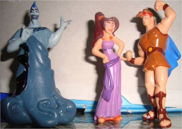 Toys For Hercules : Disney hercules toy figures flickr photo sharing