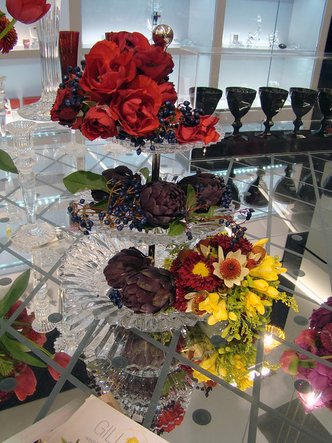 Baccarat Crystal Cake Stand