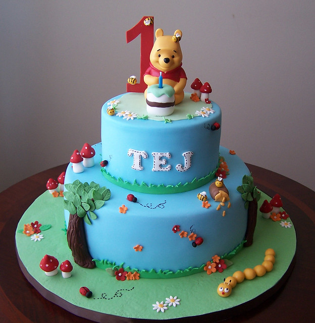 Cake Design Winnie Pooh : Winnie the Pooh cake Flickr - Photo Sharing!