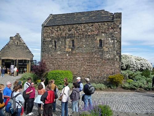 St. Margaret's Chapel, Edinburgh Castle, Scotland