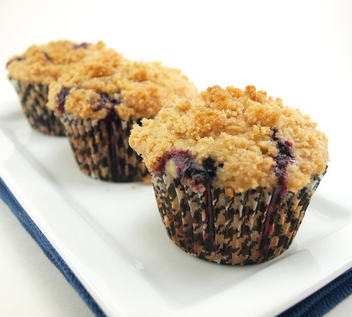 Blueberry Crumb Muffins | Explore EvilShenanigans' photos on ...