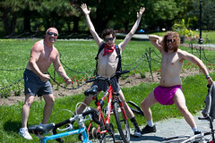 World Naked Bike Ride - Albany, NY - 10, Jun - 12 by sebastien.barre