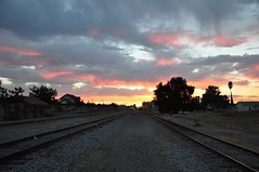 Sunset in Lemoore