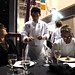 Quang Dang presents his dish at the Vancouver Gold Medal Plates