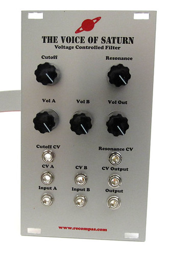 The Voice of Saturn: Voltage Controlled Filter by Analogue Haven