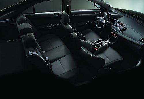 Mitsubishi Lancer 2010 Interior