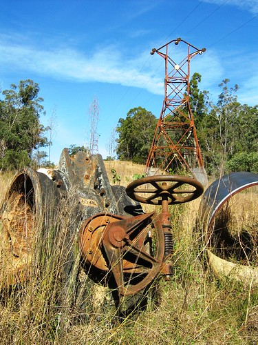'Old Main Valves' and original Transmission Towers of 33kV. FMM_IMG_0368