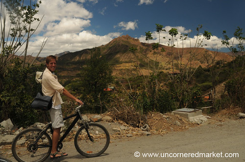 bicycle landscape ecuador biking aes vilcabamba
