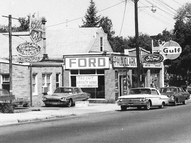 Paul Clark Ford, Brockton MA, 1965 Old Facility | Flickr ...