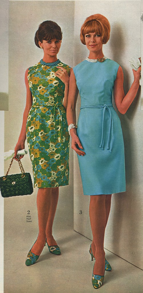 1966 Spiegel Catalog Sheath Dresses A Photo On Flickriver