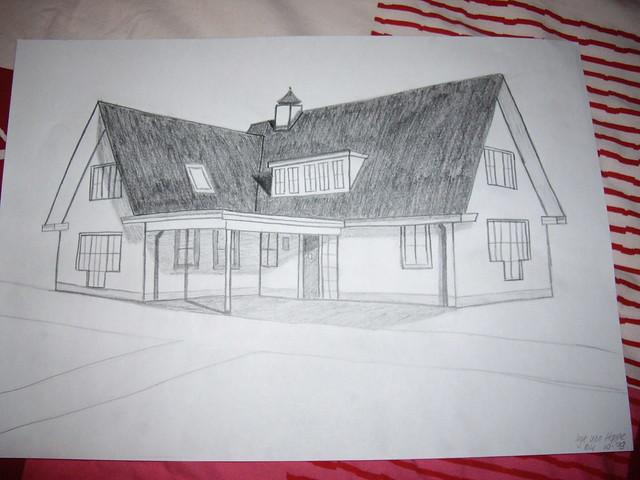 Perspectief   Huis in perspectief  Geen achtergrond, weet ik u2026   Flickr   Photo Sharing!