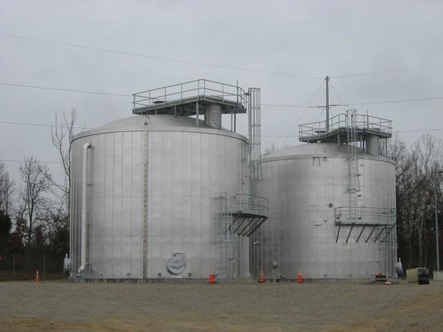 Water Tank Destruction : Blue grass chemical agent destruction pilot plant water ta