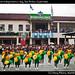 Gymnastics on independence day, San Pedro, Guatemala
