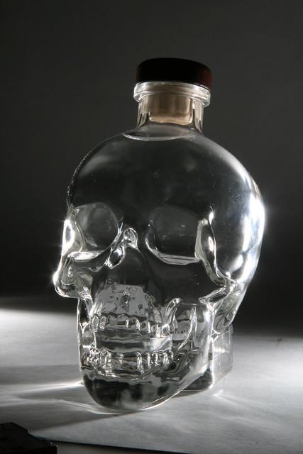 Crystal Skull Vodka   Flickr - Photo Sharing!