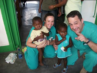 Jan. 22: Dartmouth Team One at Hinche hospital, Haiti