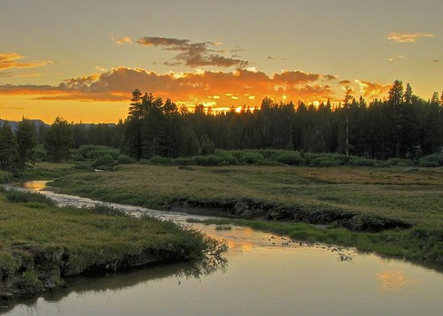 Tuolumne Meadows Sunset, Yosemite National Park