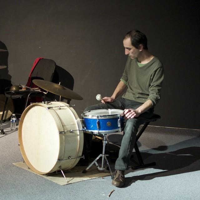 Drums Trio Edward Perraud Didier Lasserre Matthias