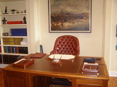 The Governor-General's Study desk